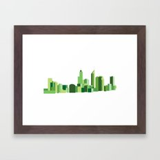 Perth Framed Art Print