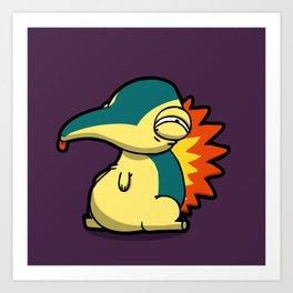 Pokémon - Number 155 Art Print