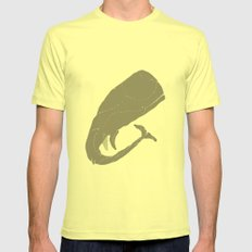 whale SMALL Lemon Mens Fitted Tee