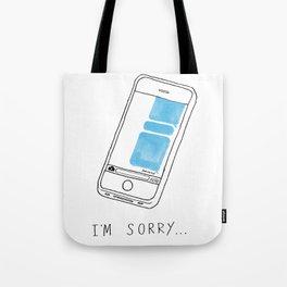 DOKONOKO - Sorry Not Sorry Tote Bag