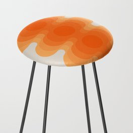 Echoes - Creamsicle Counter Stool