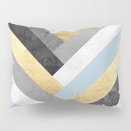 Golden bands VI Pillow Sham