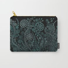 Teal ornaments Carry-All Pouch