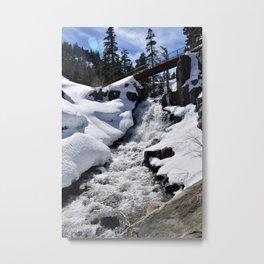 Eagle Falls, Lake Tahoe Metal Print
