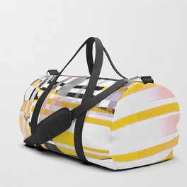 barcode splash. bumblebee Duffle Bag
