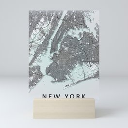 New York City Map Mini Art Print