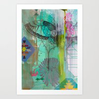 Exhale Earth Art Print