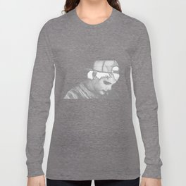 The ghost of him Long Sleeve T-shirt