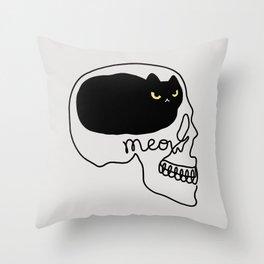 Cat Landscape 67: Cat People Throw Pillow