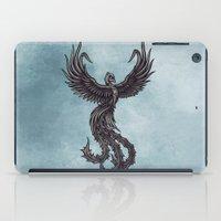 phoenix iPad Cases featuring Phoenix by Texnotropio