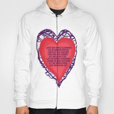 heart beat Hoody
