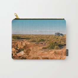 Airstream Trailer camping at Petrified Forest National Park Carry-All Pouch
