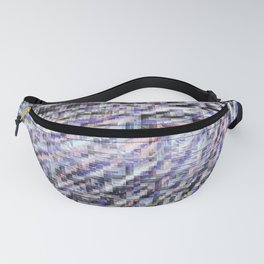 Gray Static Fanny Pack