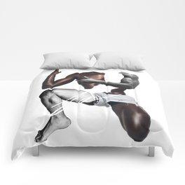 HANDSOME SQUAT BY ROBERT DALLAS Comforters