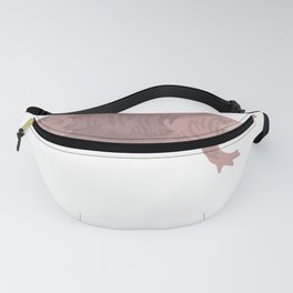 Naked Mole Rat design Fanny Pack