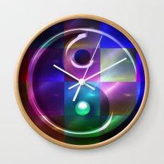 Yin Yang modern Wall Clock