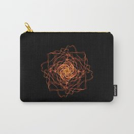 Fire Rose Carry-All Pouch
