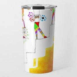 Sheri (stair series) Travel Mug