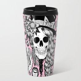 Pink Halloween Travel Mug