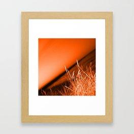 Sunrise over Southwald UK beach Framed Art Print