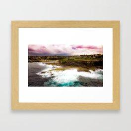 Shark Point, Clovelly - NSW Framed Art Print