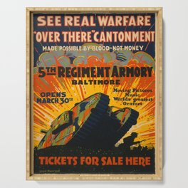 Vintage poster - Fifth Regiment Armory Serving Tray