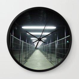 "A passage (Milan) ""A SAFE PLACE"" series Wall Clock"