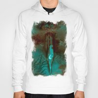 "surrealism Hoodies featuring ""The Gate"" Dark Surrealism by judgehydrogen"