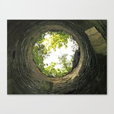 Into the pit - Lismore Towers Canvas Print