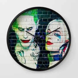 Joker & Harley Quinn Wall Clock