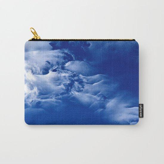 Dark blue sky Carry-All Pouch