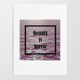 BEAUTY IS TERROR | THE SECRET HISTORY BY DONNA TARTT Poster