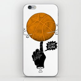 Basketball iPhone Skin