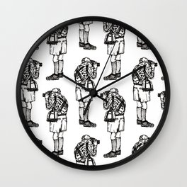 An Opa Wall Clock