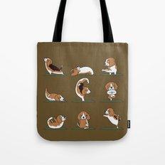 Beagle Yoga Tote Bag