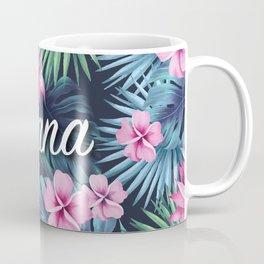 Ohana Floral Composition Coffee Mug