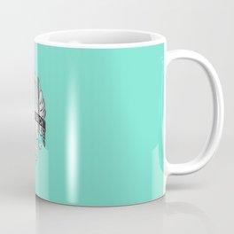 Bianchi Badge on Celeste Coffee Mug