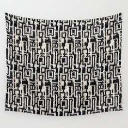 Maze Knit Wall Tapestry