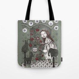 When it Snows Outside (My Secret Garden) Tote Bag