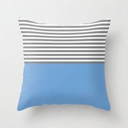 ozaren (blue/gray) Throw Pillow