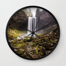 Tamanawas Falls Wall Clock