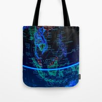 asia Tote Bags featuring Southeast Asia by Jeffrey J. Irwin