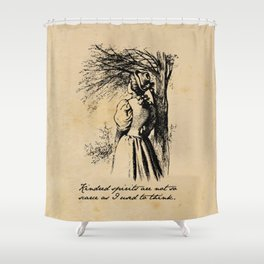 Anne of Green Gables - Kindred Spirits Shower Curtain
