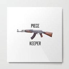 AK 47 Piece keeper Metal Print