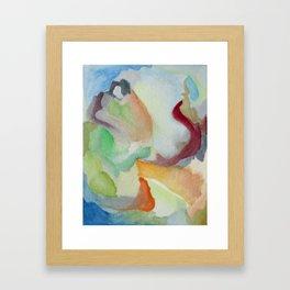 Summer Clouds Framed Art Print