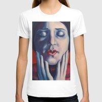 tina crespo T-shirts featuring Buonanotte Tina Modotti by Kristina Gufo