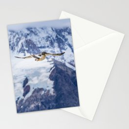 Austral Patagonian Bird Flying Stationery Cards
