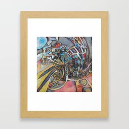 Slots Framed Art Print