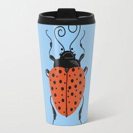 Little Ladybug Blue Travel Mug