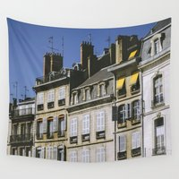 90s Wall Tapestries featuring The 90s in France by MarioGuti